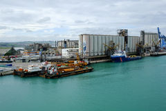 Ancona port in Italy Royalty Free Stock Photo