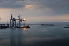 Ancona port in Italy Stock Photography