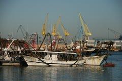 Ancona port, Włochy fotografia royalty free