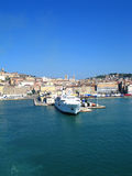 ancona Włoch portu Fotografia Stock