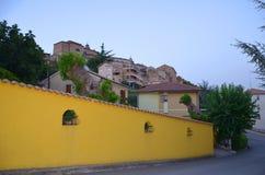 Ancona, Włochy: miastowa architektura Biedne miasto Ancona lokalizuje wzdłuż wschodnich brzeg Adriatycki wybrzeże Obraz Royalty Free