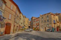 Ancona, Włochy: miastowa architektura Biedne miasto Ancona lokalizuje wzdłuż wschodnich brzeg Adriatycki wybrzeże zdjęcia stock