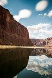 Ancora acqua del fiume Colorado Fotografia Stock