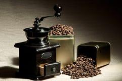 Ancora caffè di vita Immagine Stock