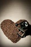 Ancora caffè di vita Immagini Stock