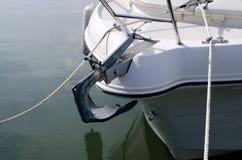 Ancora della barca Fotografie Stock Libere da Diritti