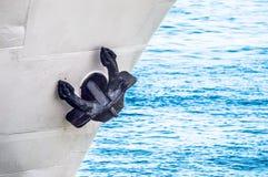 Ancora della barca Immagini Stock
