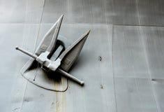 Ancora della nave da guerra Immagine Stock Libera da Diritti