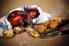 Ancora durata della frutta di autunno Fotografie Stock