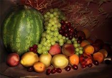 Ancora durata di frutta Fotografia Stock Libera da Diritti