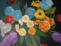 Ancora fiori di vita Immagini Stock