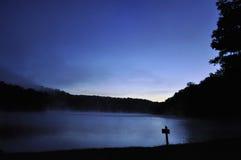 Ancora lago Immagini Stock Libere da Diritti
