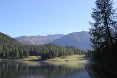 Ancora lago Immagine Stock
