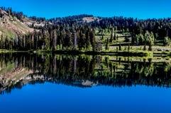 Ancora lago Immagini Stock