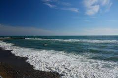 Ancora paesaggio del mare Fotografie Stock