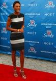 Ancora Robin Roberts della TV al tappeto rosso prima dell'US Open una cerimonia di 2013 serate di inaugurazione al centro nazional Fotografia Stock