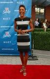 Ancora Robin Roberts della TV al tappeto rosso prima dell'US Open una cerimonia di 2013 serate di inaugurazione al centro nazional Immagine Stock Libera da Diritti