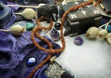 Ancora vita astrologica - Sagittarius fotografie stock