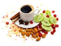 Ancora vita con caffè Fotografia Stock