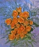 Ancora vita con fiori Fotografia Stock