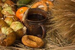 Ancora vita con frutta e le verdure Immagini Stock Libere da Diritti