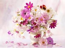 Ancora vita con i fiori Immagine Stock
