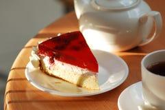 Ancora-vita con la bevanda ed il dessert Fotografia Stock Libera da Diritti