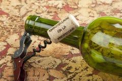 Ancora vita con la bottiglia Immagini Stock