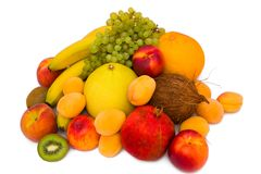 Ancora vita con la frutta Fotografia Stock Libera da Diritti