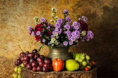 Ancora vita con la frutta Fotografie Stock