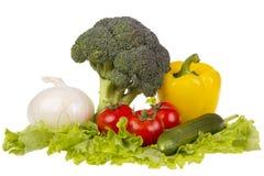 Ancora vita con la verdura fresca Fotografia Stock Libera da Diritti