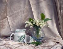 Ancora vita con lily-of-the-valley Fotografia Stock Libera da Diritti