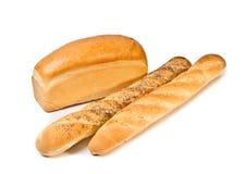 Ancora vita con pane Immagini Stock