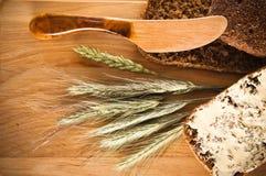Ancora vita con pane ed i punti Immagine Stock Libera da Diritti
