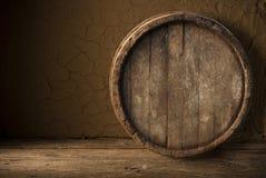Ancora vita con un barile di birra Fotografia Stock
