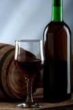 Ancora vita con vino immagini stock