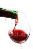 Ancora vita con vino rosso Fotografia Stock Libera da Diritti