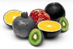 Ancora vita da frutta matura Fotografia Stock