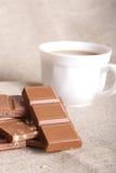 Ancora-vita del cioccolato Immagini Stock Libere da Diritti