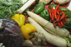 Ancora-vita di verdure Fotografia Stock Libera da Diritti
