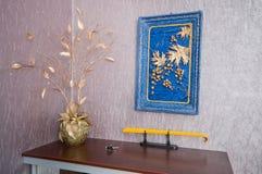 Ancora-vita - un ornamento della stanza. Immagine Stock Libera da Diritti
