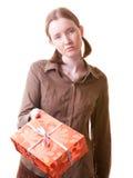 Ancora volete quel presente? Fotografia Stock Libera da Diritti