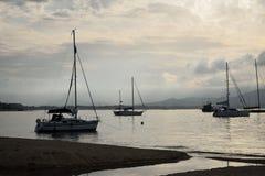Ancorage i Saint Tropez, fotografering för bildbyråer