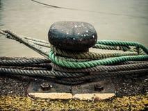 Ancoraggio del porto Fotografie Stock Libere da Diritti