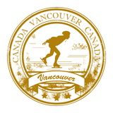 Ancouver, Canada stamp Stock Photo