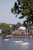 Ancrage d'Annapolis Image libre de droits