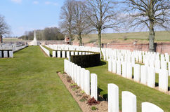 Ancre British Cemetery Royalty Free Stock Images