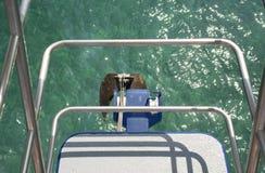 Ancre de bateau Images stock
