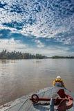 Ancre de bateau dans le beau paysage image libre de droits
