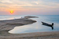 ancre Long-coupée la queue de fonte de bateau Photo libre de droits